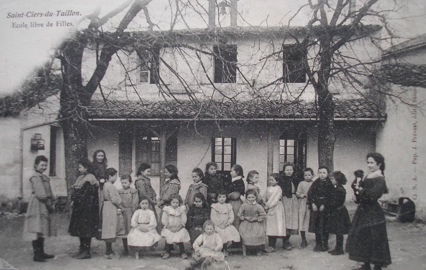 Saint Ciers Ecole des filles
