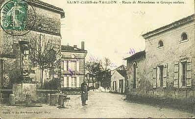 St ciers 1905 la fontaine