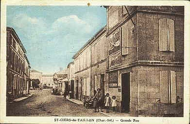 St ciers 1934 rue principale